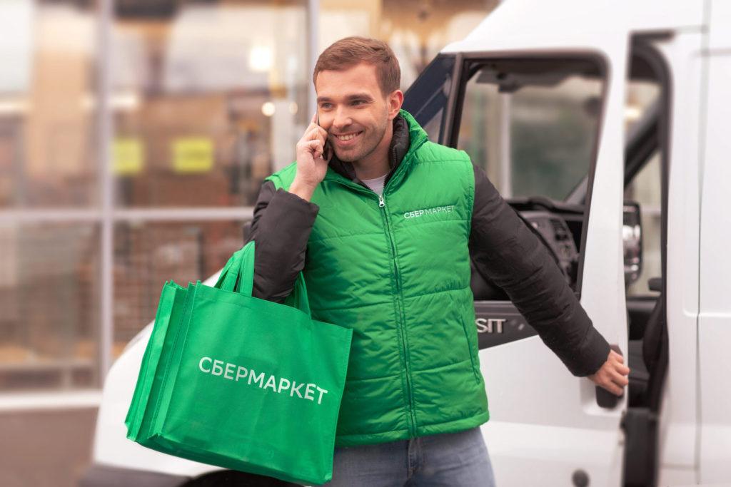 Водитель-курьер на авто СберМаркет